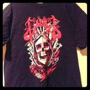 Gost tour t shirt skull